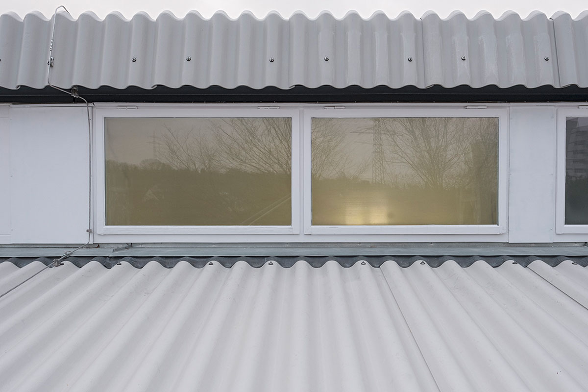 Fenster der Haldenrainschule