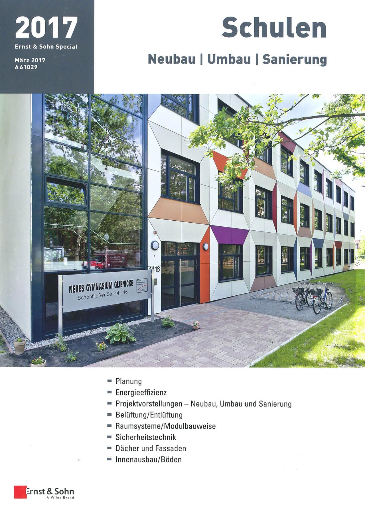Schulen Neubau, Umbau, Sanierung