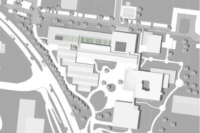 Lageplan Schule Erweiterungsneubau