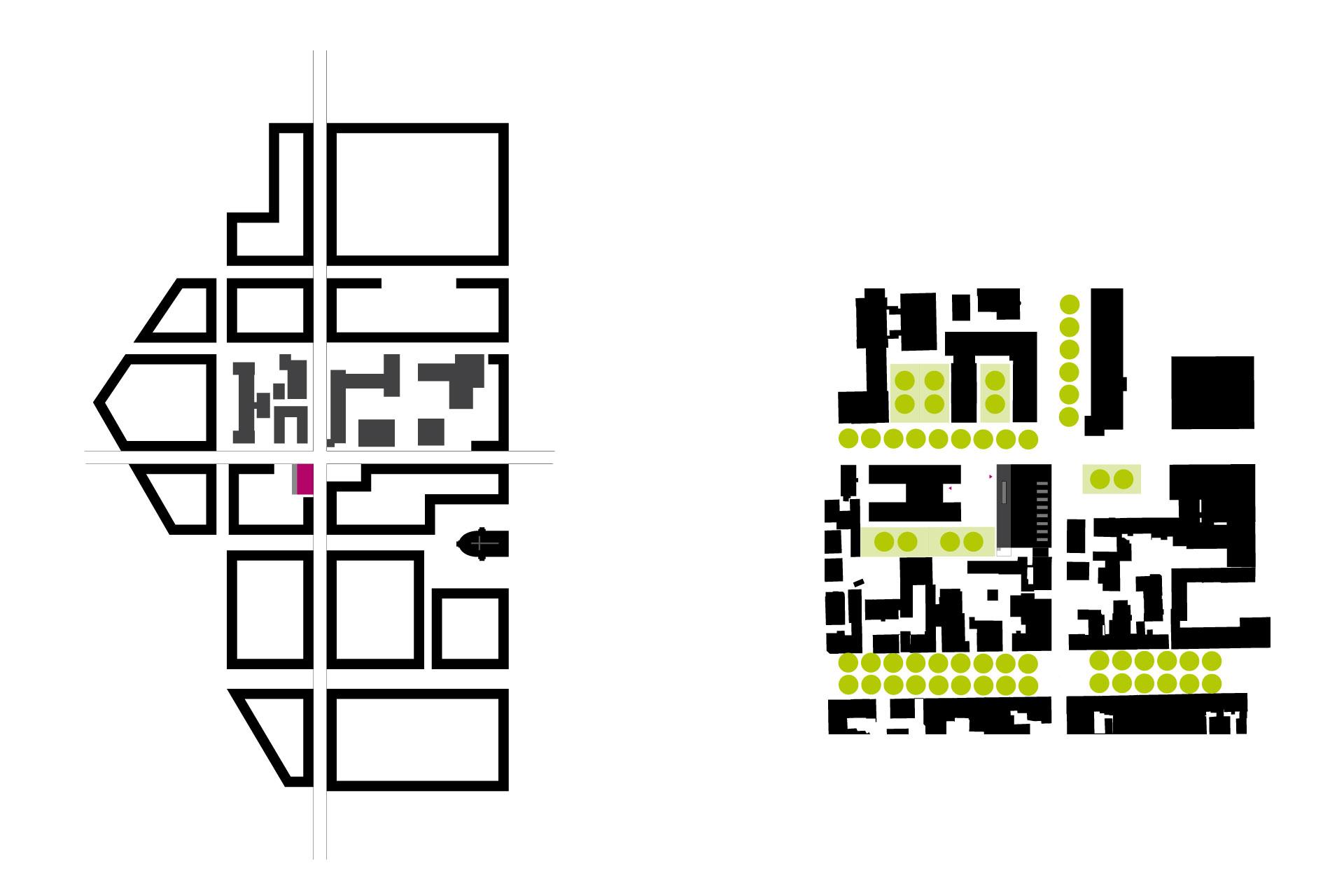 Piktogramm Erschließung Schulbad