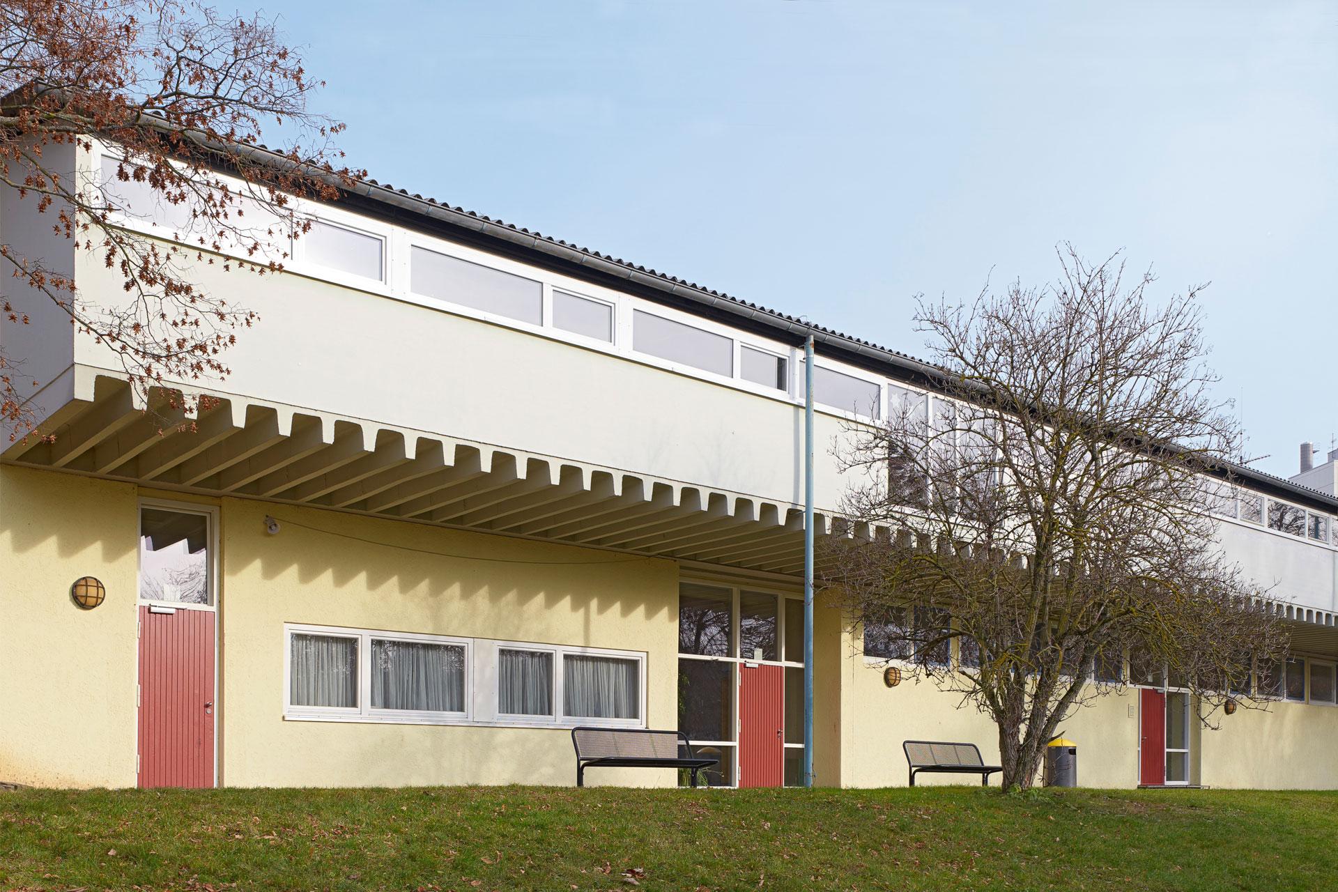 Architekt, Fenstersanierung Silcherschule