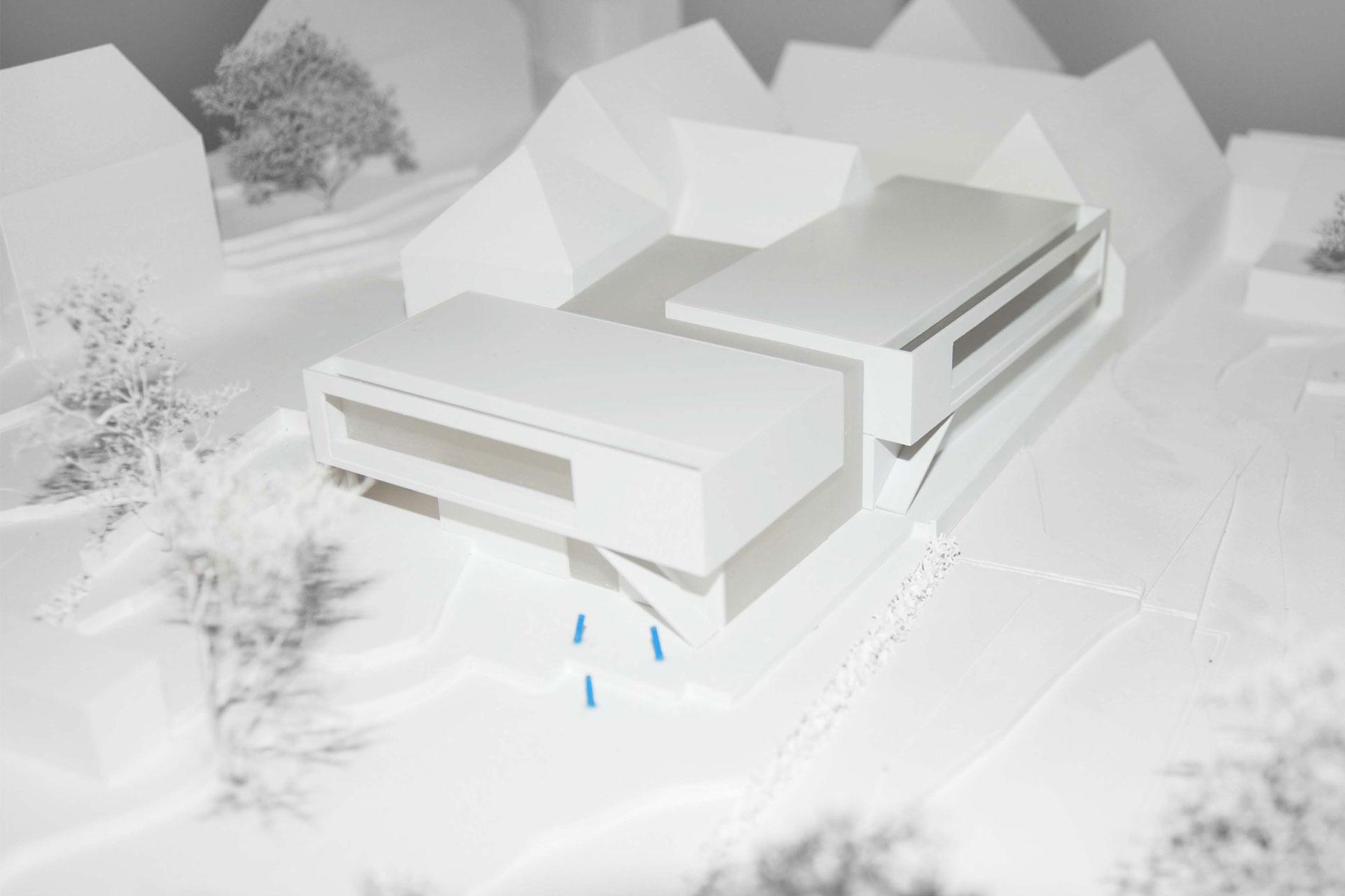 Architekt Modell Kita