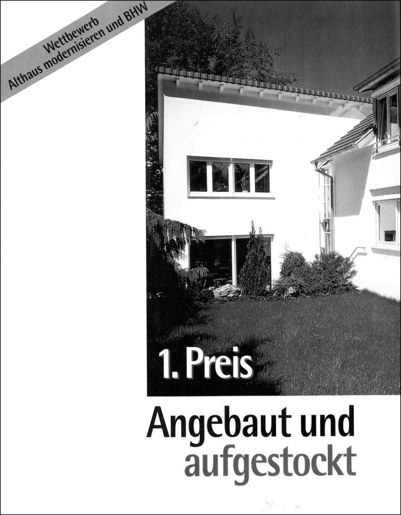 Althaus Modernisierung
