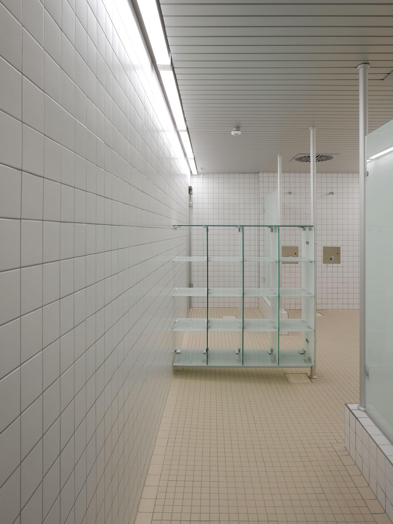 Neubau Duschen
