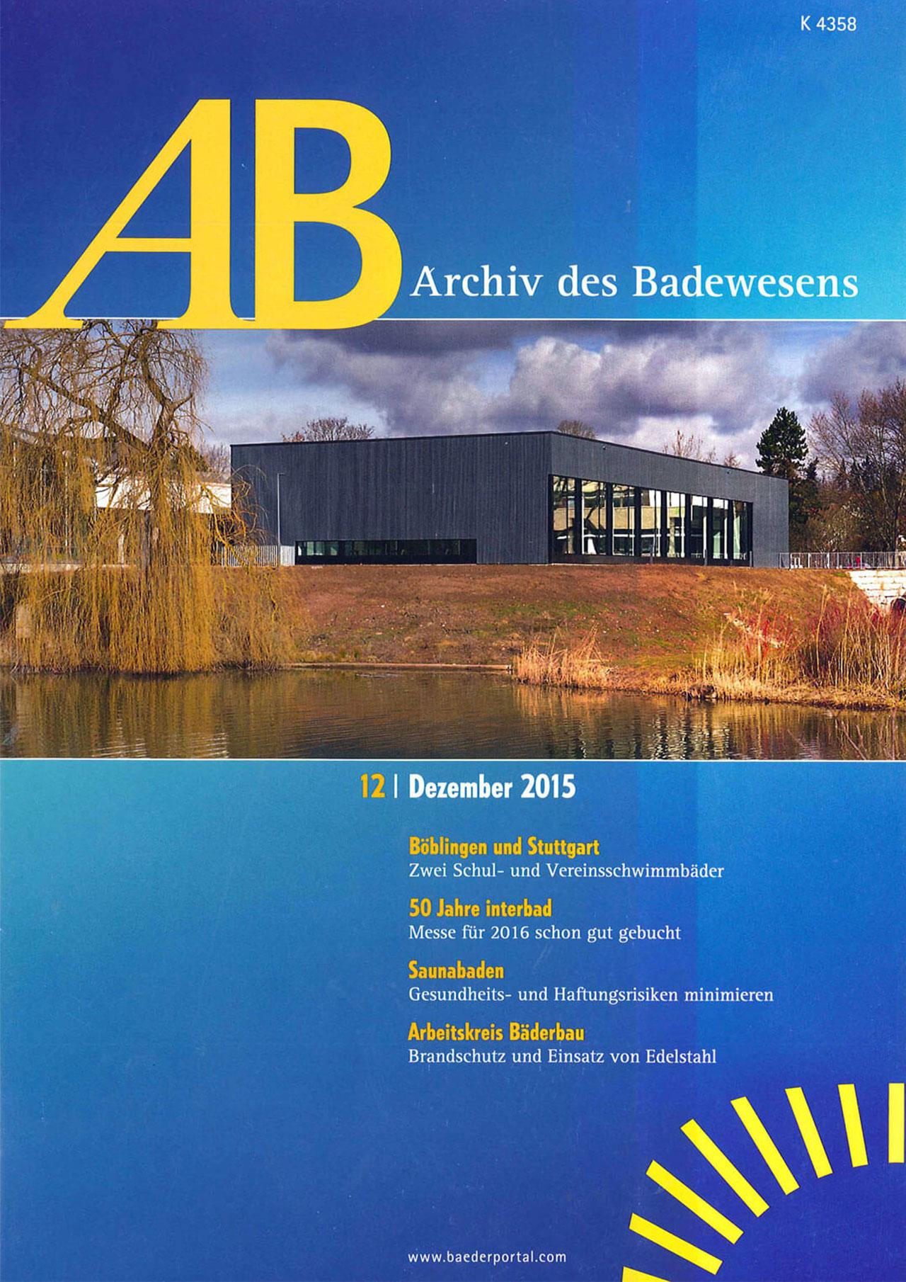 Archiv des Badewesens