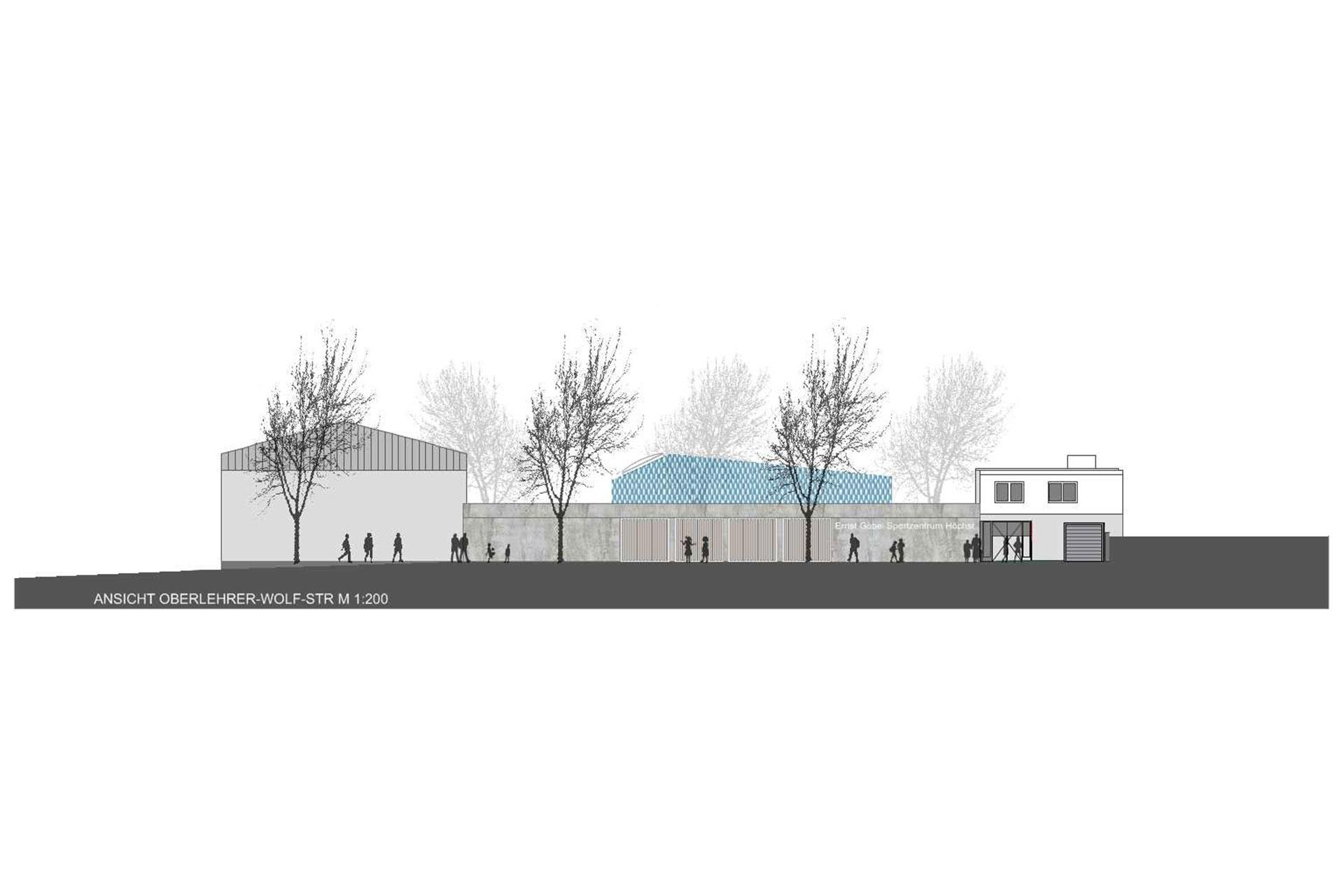 Neustrukturierung Lehrschwimmbad Ernst-Göbel-Schule
