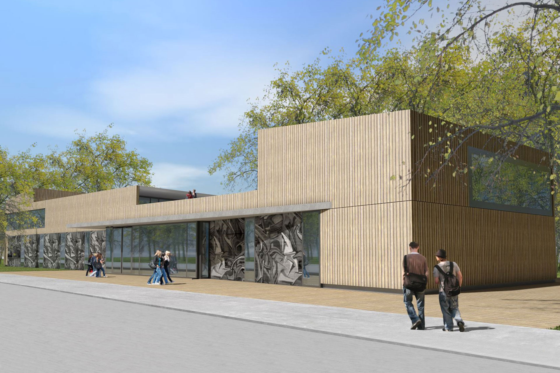 Neubau Jugendhaus Balingen