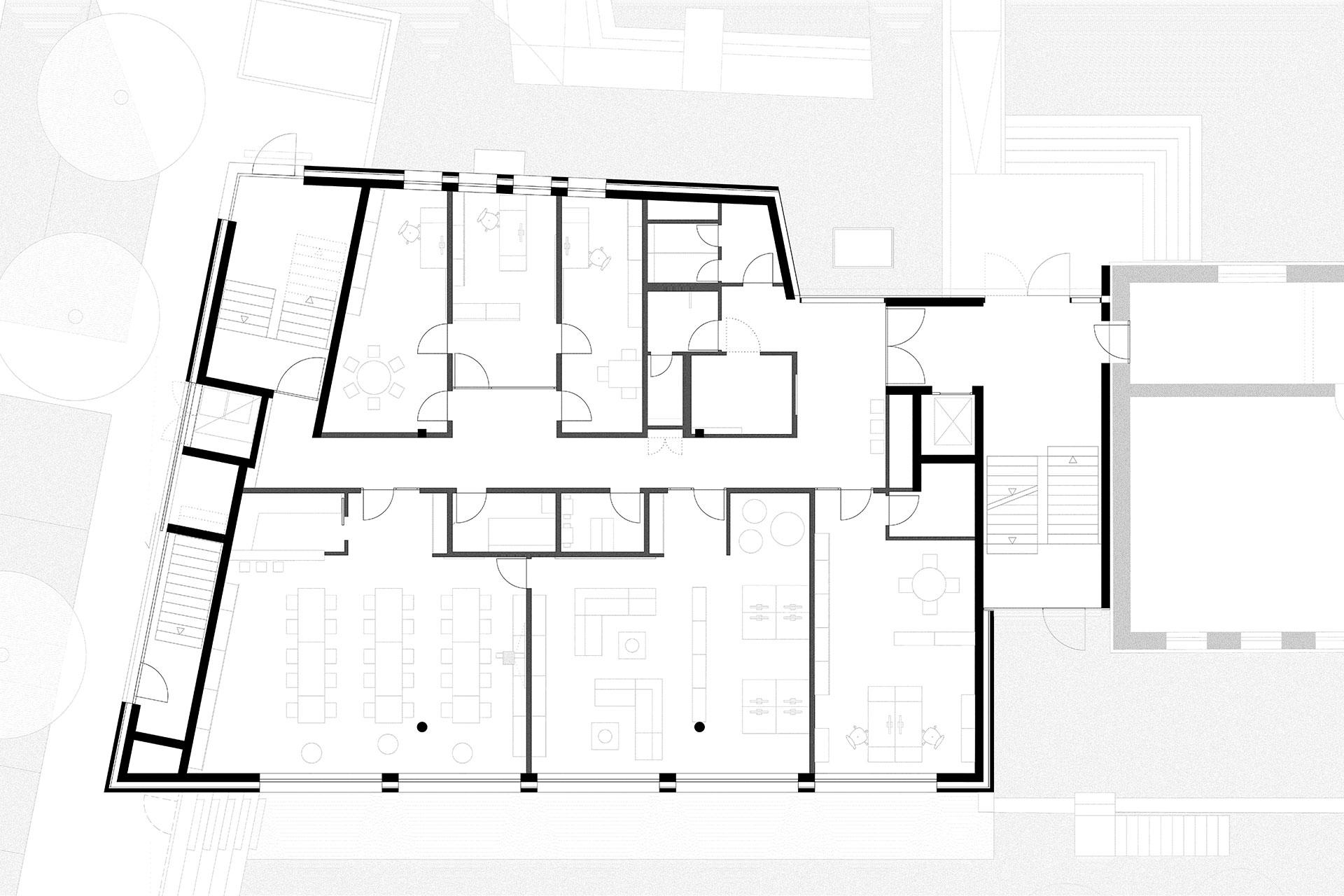 Erweiterungsneubau Schule Mensa Kaltental Stuttgart