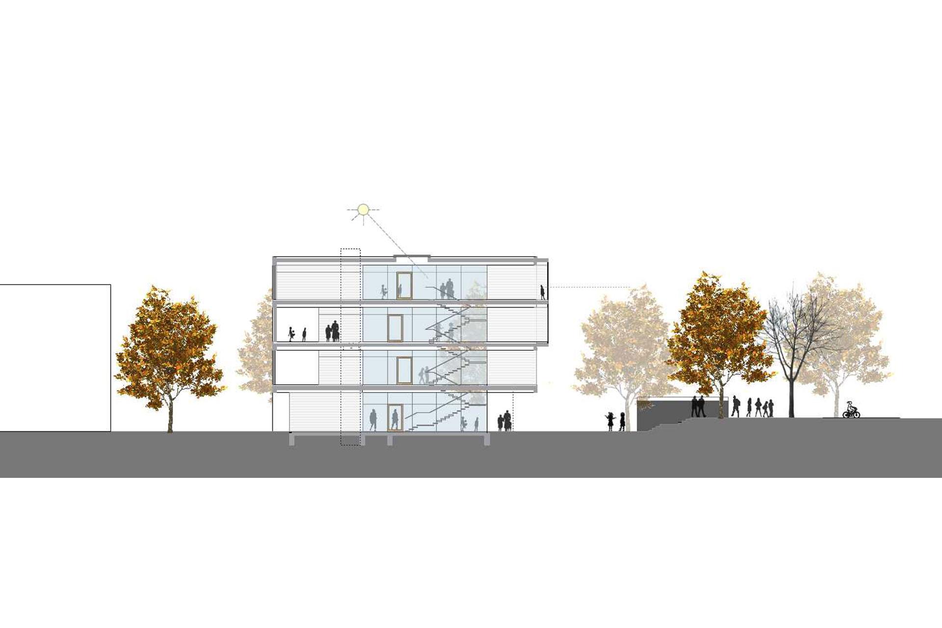 Neubau Kita Böblingen Breslauerstraße